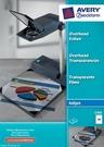 Folia do rzutników 2502 Avery Zweckform, format A4, 50 arkuszy, drukarki InkJet