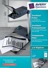 Folia do rzutników 3557 Avery Zweckform 3557, format A4, 100 arkuszy, kopiarki