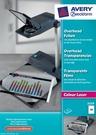 Folia do rzutników 3559 Avery  Zweckform, format A4, 50 arkuszy, Colour Laser