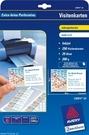 Wizytówki C32014 - 25, rozmiar 85x54, 250 wizytówek, mikroperforacja, matowe