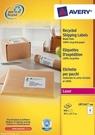 Etykieta wysyłkowa recyklingowana Avery Zweckform LR7165 - 100, 99,1 x 67,7mm, 8