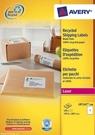 Etykieta wysyłkowa recyklingowana Avery Zweckform LR7167 - 100, 199,6 x 289,1mm,