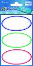Z-Design 3742 Naklejka spiżarniana - owalne etykiety 3 arkusze, 9 naklejek