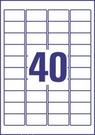 Folia krystaliczna wysokoprzezroczysta Avery Zweckform L7781 - 25, rozmiar 45,7