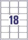 Etykieta adresowa Avery Zweckform L7161 - 100 biała, 63,5 x 46,6mm, 1800 etykiet