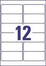 Etykieta adresowa L4772-25 Avery, 99,1 x 42,3 mm transparentna, 300 etykiet