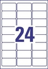 Etykieta adresowa InkJet Avery Zweckform J8159 - 25, 63,5 x 33,9mm biała, 600 et
