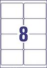 Etykieta adresowa InkJet Avery Zweckform J8165 - 25, 99,1 x 67,7mm biała, 200 et