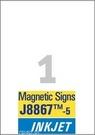 J8867-5 Etykiety magnetyczne InkJet Avery Zweckform, 210 x 297mm, 5 etykiet