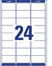 Etykieta adresowa Avery Zweckform L7159 - 100 biała, 63,5 x 33,9mm, 2400 etykiet
