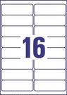 Etykieta adresowa Avery Zweckform L7162 - 40 biała, 99,1 x 33,9mm, 640 etykiet