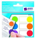 Karteczki samoprzylepne z kółkami Avery Zweckform 8330, 6-cio kolorowe