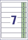 Etykieta na segregator Avery L4760J14 - 20, 192 x 38 na 2014 rok, 140 etykiet
