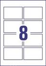 Wizytówki C32006-500, 85x54, 220g/m2, gładkie krawędzie, satynowane ultra-białe,