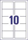 Wizytówki C32094-10, 85x54, 200g/m2, gładkie krawędzie, matowe-jasnoszary-marmur