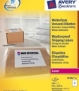 Etykieta wysyłkowa na trudne warunki pogodowe, weatherproof shipping, 99,1 x 139