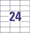 Etykieta uniwersalna Economy EC9170-100, rozmiar 70 x 37mm, 2400 etykiet