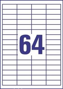 Etykieta uniwersalna Economy EC9183-100, rozmiar 48,5 x 16,9mm, 6400 etykiet